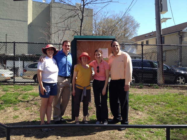 Lynn Kennedy, lauren Biniaris with Senator Gianaris, Assemblywoman Simotas, and Councilman Costantinides