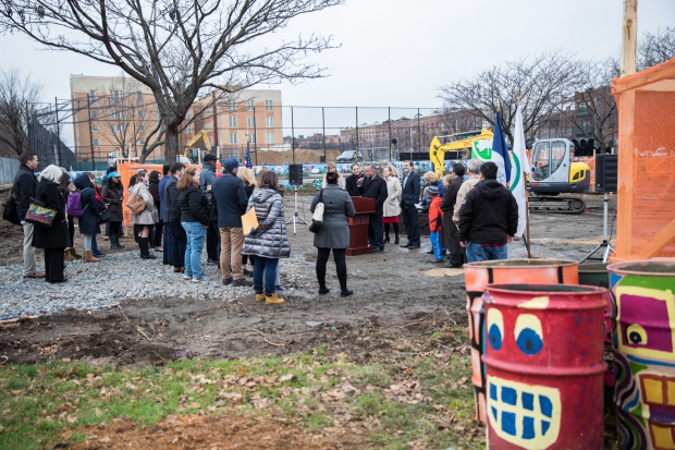 Groundbreaking Ceremony for Astoria Heights Park