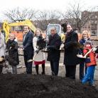 Groundbreaking Ceremony for Astoria Heights Park