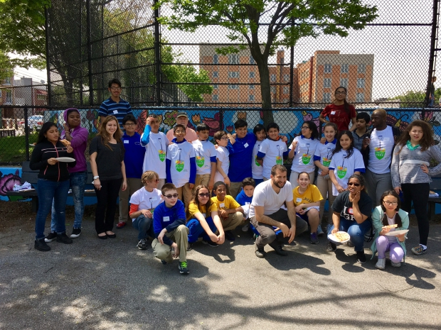 IS 10 students participate in 'ITs My Park Day'