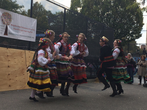 Polish Youth Dance Troupe performing in Ocotber 2016